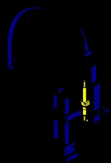 Posizione di montaggio dell'azzeratore di gravità sul robot pick and place Serialpicker